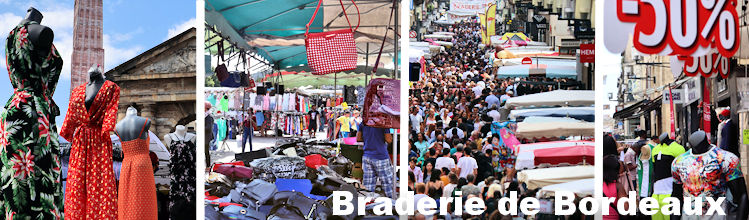 Braderie de Bordeaux | Photos Bernard Tocheport