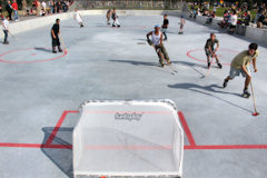Bordeaux : hockey au parc des Sports Saint Michel