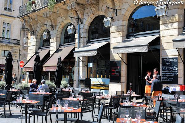 Bordeaux La Terrasse De Comptoir Cuisine Place De La Comedie