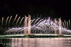 Feu d'artifice inauguration : Groupe F -  photo 33-bordeaux.com